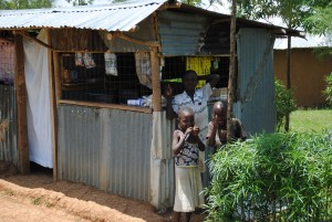 A village shop, Siaya, Uganda. Credit, Agriculture for Impact.