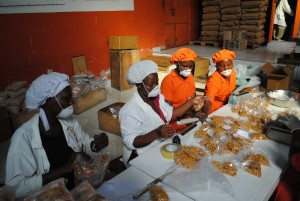 Adding value to products: Packaging and storage facility, Seseco, Uganda. Credit, Agriculture for Impact.