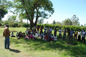 One Acre Fund training in Kisumu, Kenya.