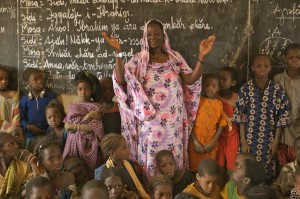 A rural school in Mali. Credit, A. Vitale, Oxfam.