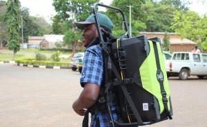 SoilDoc backpack. Credit SoilDoc