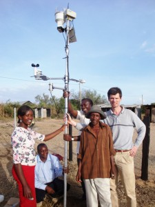 Weather station for weather-based insurance. Credit, Kilimo Salama